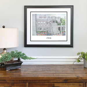Independence Hall Gift Framed
