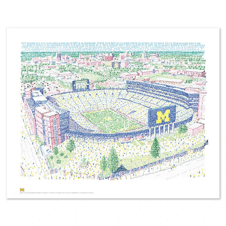 Michigan Wolverines Decor