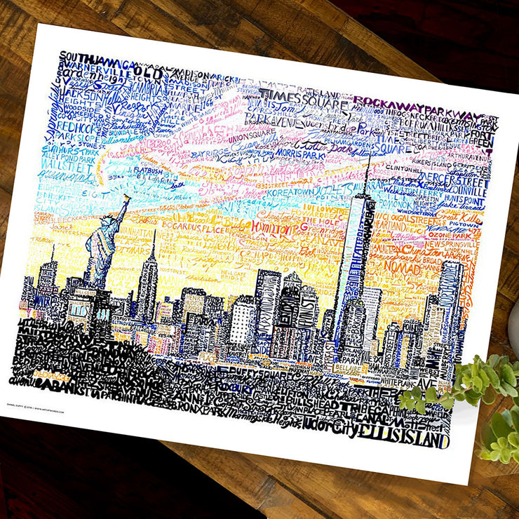 NYC Skyline Art
