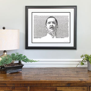 Barack Obama Gift Framed