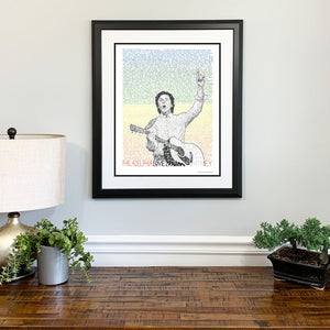 Paul McCartney Beatles Gift Framed