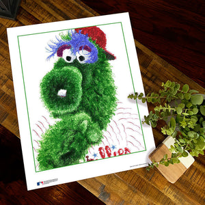 Phillie Phanatic Poster