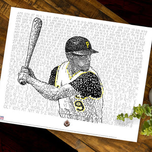 1960 Pittsburgh Pirates Bill Mazeroski Decor
