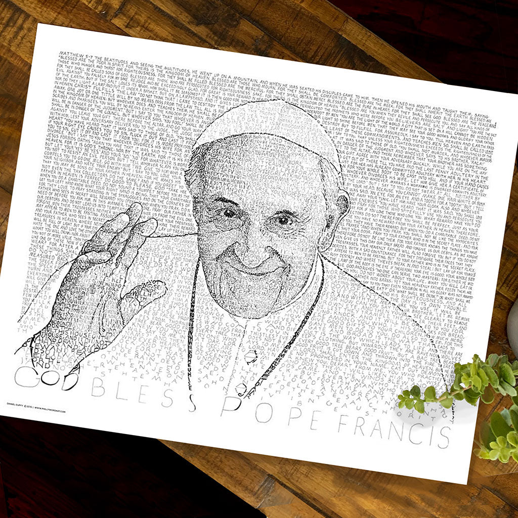 Pope Francis Wall Art Poster