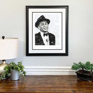 Frank Sinatra My Way Home Gift Framed