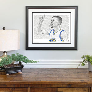 Golden State Warriors Gift Framed