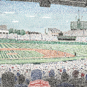 Chicago Cubs Wrigley Field Decor