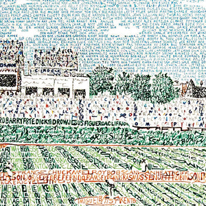 Chicago Cubs Wrigley Field Wall Art