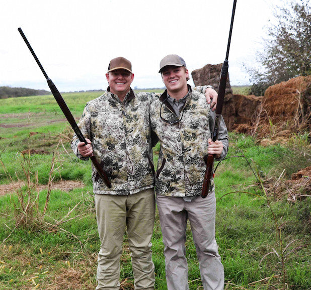He Stepped up his Game, with an Argentine Dove Hunt