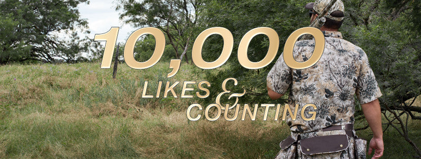 10,000 Fans - We couldn't do it without you!