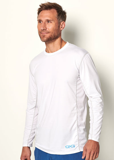 White Performance Tee - GameGuard Outdoors