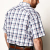 Deep Water Plaid Shirt - GameGuard Outdoors