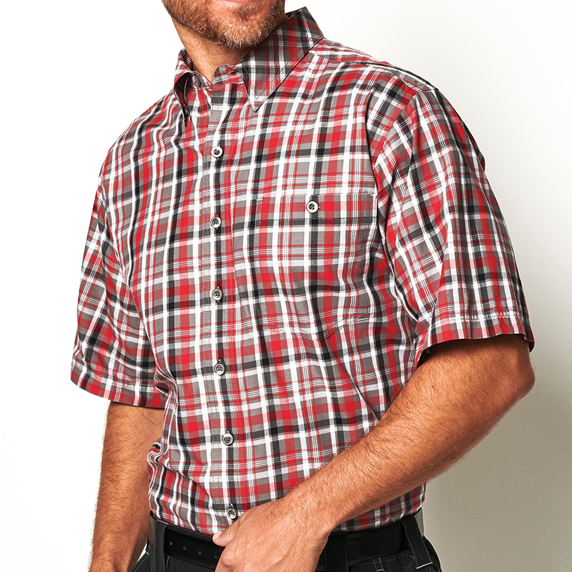 Red Plaid Shirt - GameGuard Outdoors