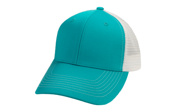 Caribbean Cap | White MeshBack - GameGuard Outdoors
