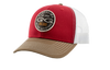 Crimson Cap | TriColor | Patch - GameGuard Outdoors