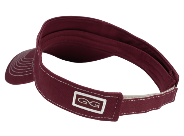 Maroon Visor - GameGuard Outdoors