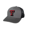 GameGuard Texas Tech University GunMetal Cap | Caviar MeshBack - GameGuard Outdoors
