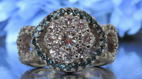 Halo Setting Diamond Ring