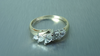 MARQUISE FIVE STONE DIAMOND WEDDING RING