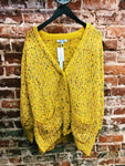 Multi Color Oversize Cardigan
