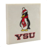 Youngstown State University Drink Coaster 001
