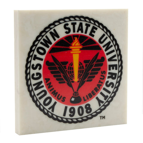 Officially Licensed Logo'd Youngstown State University Drink Coaster 003