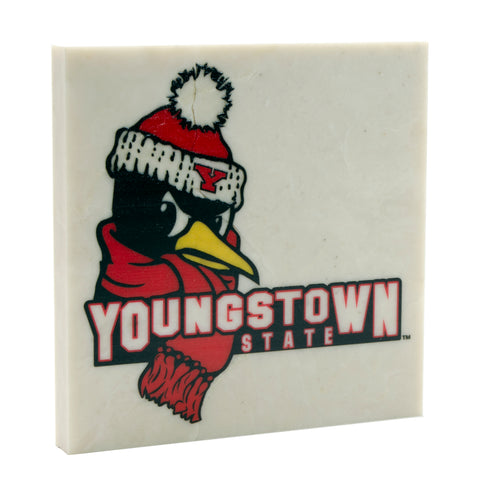 Officially Licensed Logo'd Youngstown State University Drink Coaster 007