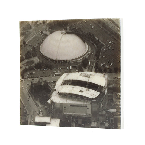 Civic Arena & Consol Energy Center Drink Coaster - Pittsburgh, PA - 021
