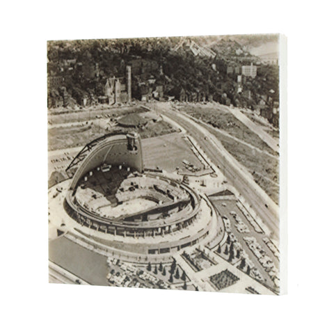 Civic Arena Open Drink Coaster - Pittsburgh, PA - 022