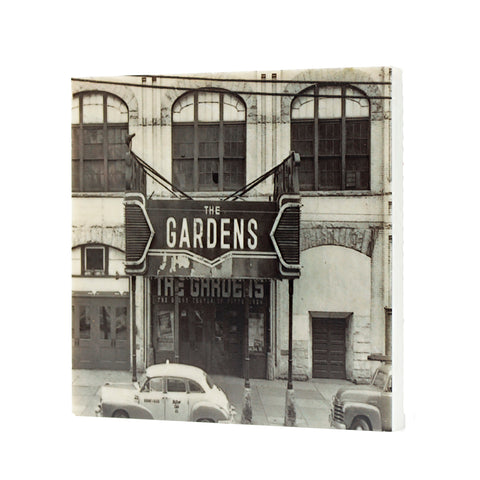 Duquesne Gardens Historic Pittsburgh Hockey Drink Coaster - 023
