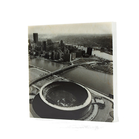 Aerial of Three Rivers Stadium Drink Coaster - 029
