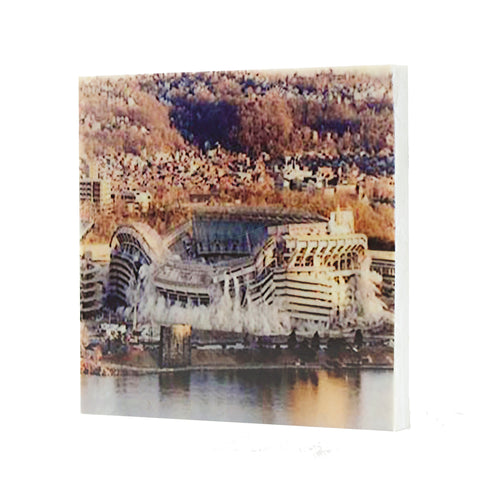 1971 Three Rivers Demolition Drink Coaster - Pittsburgh, Pennsylvania - 031