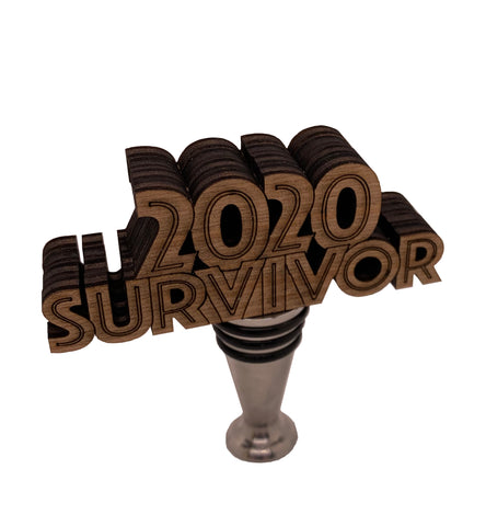 2020 Survivor Wine Stopper