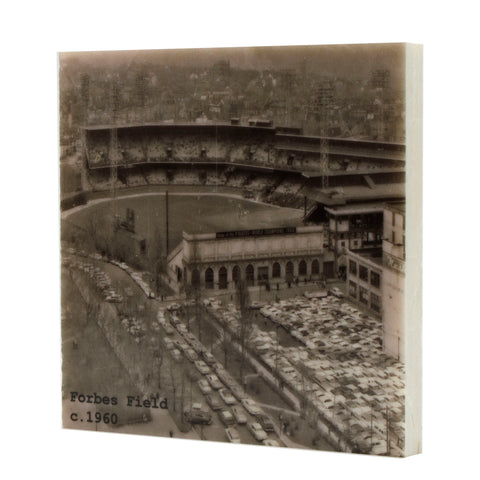 Aerial of Forbes Field Drink Coaster 1960's - Pittsburgh, PA - 311