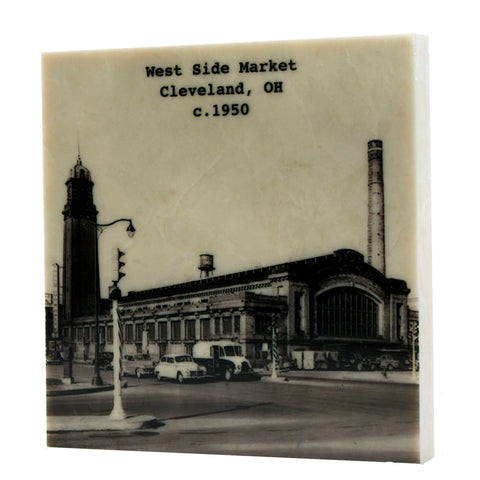 West Side Market c.1950 Coaster - 5030