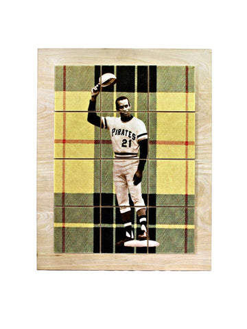 Roberto Clemente 3000th Hit Wall Mosaic - WM001