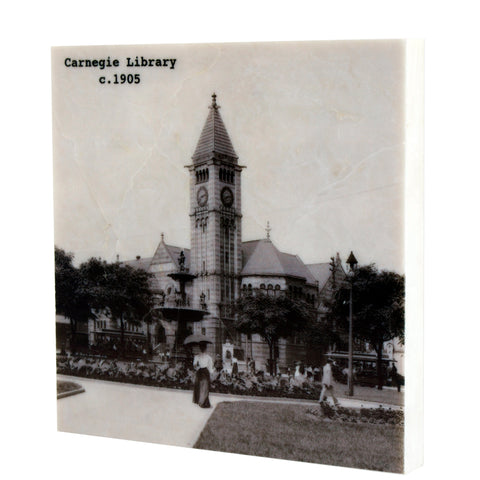 Carnegie Library Coaster - 350