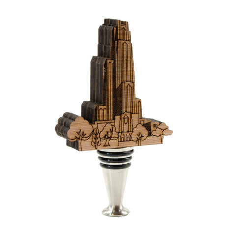 Cathedral of Learning Wine Stopper