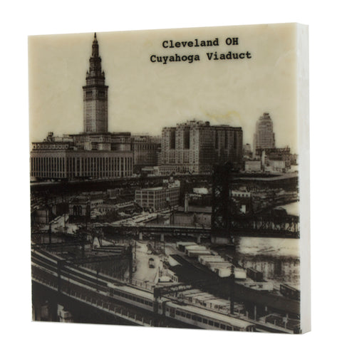 Cuyahoga Viaduct Coaster - 5026