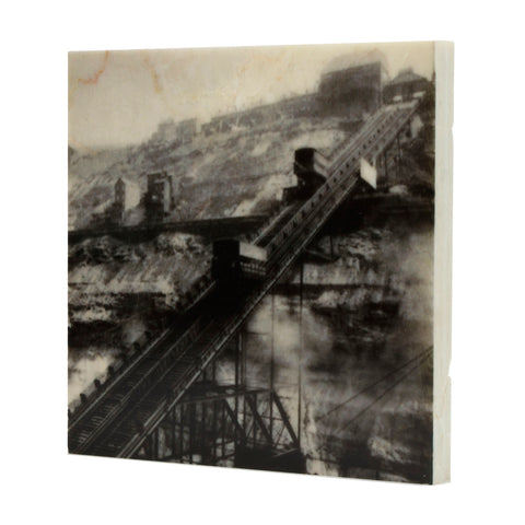 Incline Drink Coaster - Pittsburgh, PA - 063