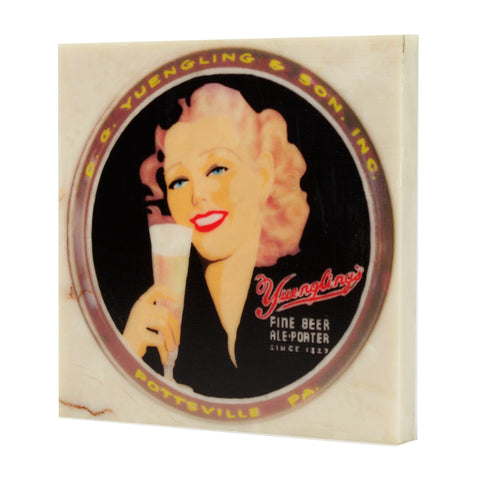 Yuengling Beer Historic Pottsville Pennsylvania Beer Drink Coaster - 090