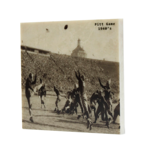 1940's Era University of Pittsburgh Football Game Coaster - 039