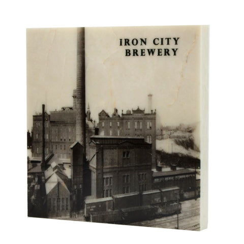 Iron City Brewery Drink Coaster - 098
