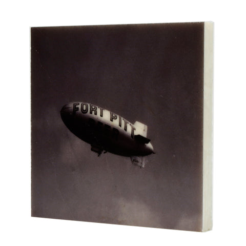 Fort Pitt Beer Blimp Drink Coaster - 093