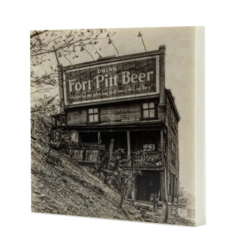 Fort Pitt Beer House Drink Coaster - 095