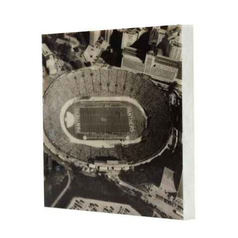 Aerial of Pitt Stadium Drink Coaster - 045