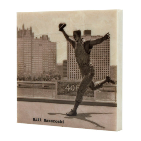 Bill Mazeroski Statue Drink Coaster - 700
