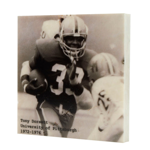 Pittsburgh Panther Tony Dorsett Pittsburgh, PA Drink Coaster - 314