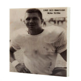 1960 All-American Mike Ditka Pittsburgh, PA Drink Coaster - 313