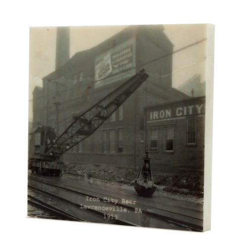 Iron City Beer 1913 Coaster - Lawrenceville, PA - 317